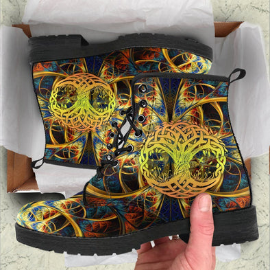 HandCrafted Tree of Life 2 Boots