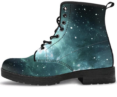 Handcrafted Galaxy Boots.