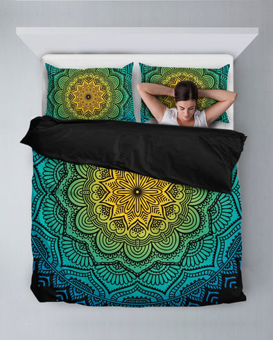 Flower Mandala Bedding Set