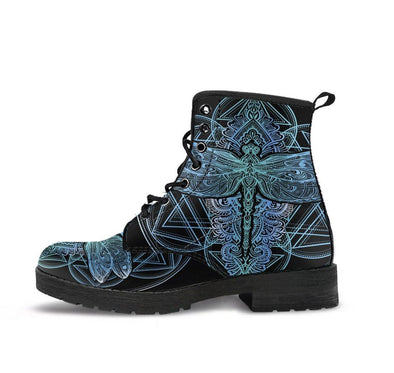 HandCrafted Dragonfly Mandala Boots