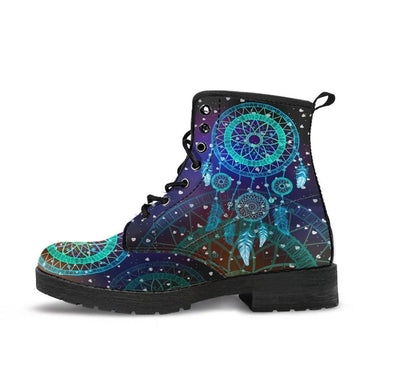 HandCrafted Galactic DreamCatcher Mandala Boots