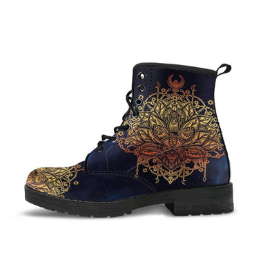 Handcrafted Spiritual Lotus Boots