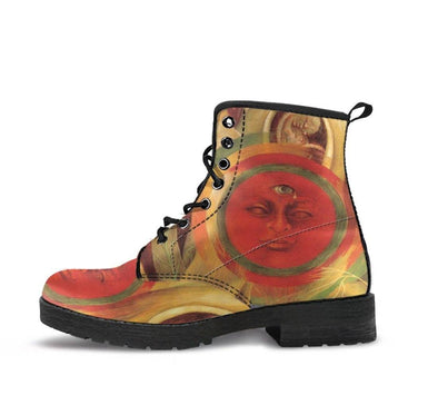 HandCrafted Frida Kahlo Cherry Boots