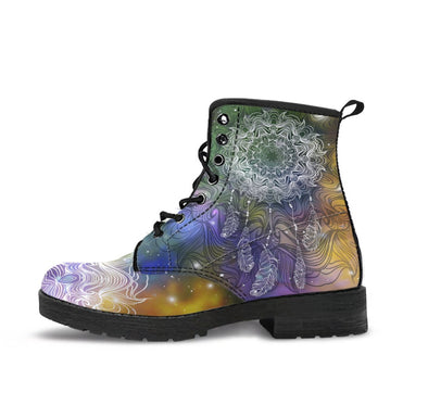 HandCrafted Galaxyish DreamCatcher Mandala Boots.
