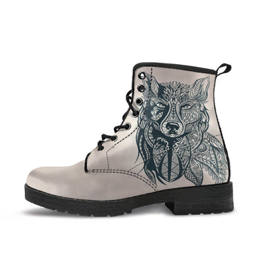 HandCrafted Vintage Wolf Boots