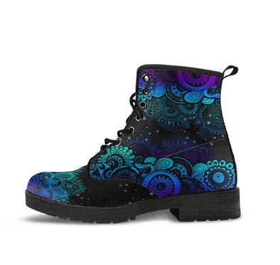 Handcrafted Paisley Mandala 3 Boots