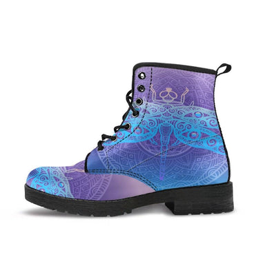 HandCrafted Spring Dragonfly Boots.