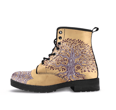HandCrafted Earthly Tree of Life Boots.