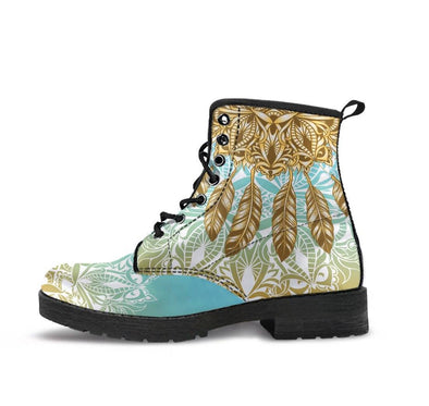 HandCrafted Native Mandala Boots.