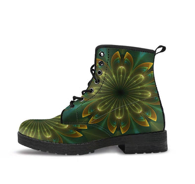 HandCrafted Green Light Boots
