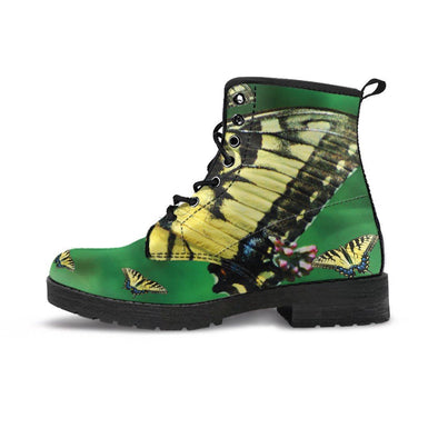 Handcrafted Butterfly Boots.