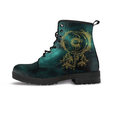 Clearance Green Sun and Moon DreamCatcher Boots