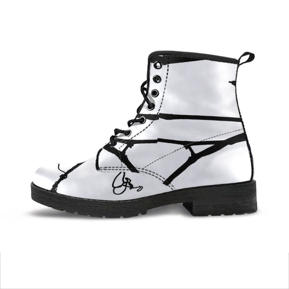 Handcrafted Squiggly Lines Boot.