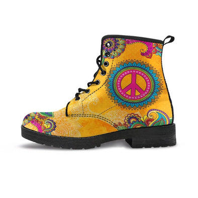 Golden Peace HandCrafted Boots.