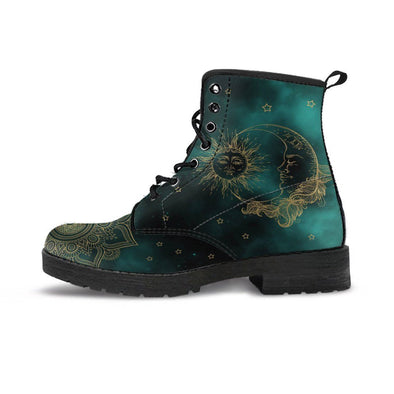 Clearance Green Sun and Moon Boots.