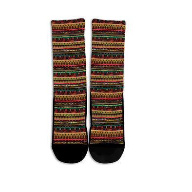 Colorful Abstract Socks