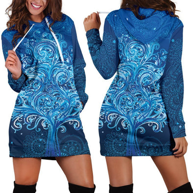 Tree of Life 2 Hooded Dress