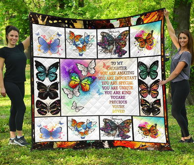 Colorful Butterfly Quilt
