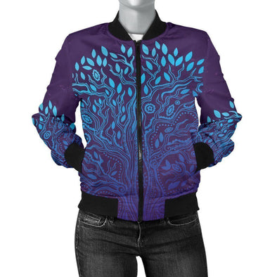 Clearance Tree of Life Bomber Jacket