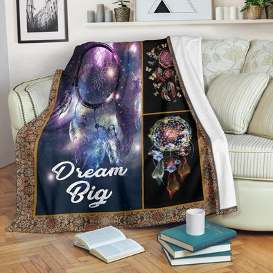Dream Big galaxy Dreamcatcher Blanket