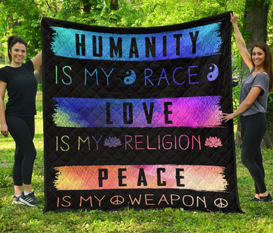 Love and Peace Quilt