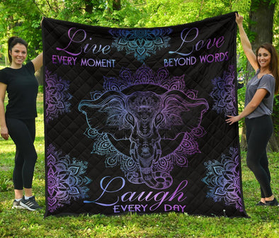 Live Love Laugh Quilt