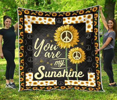 Colorful You are my Sunshine Quilt