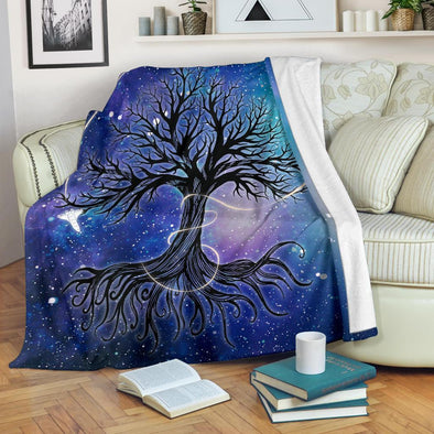Galaxy Tree of Life Blanket