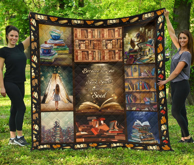 I Love Books Quilt