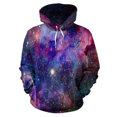 HandCrafted Purple Galaxy Hoodie