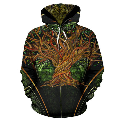 HandCrafted Fractal Tree of Life Hoodie