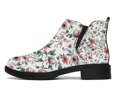 HandCrafted Floral 1 Booties