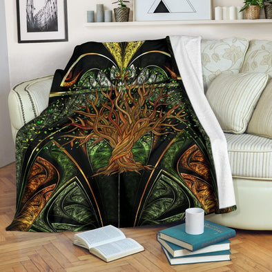 Mystical Tree of Life Blanket