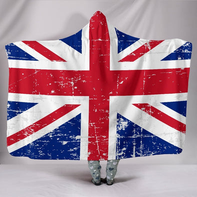 United Kingdom Hooded Blanket