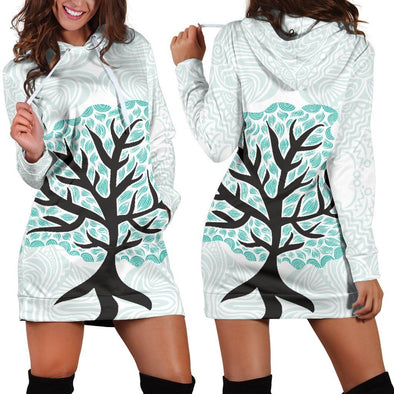 Tree of Life 3 Hooded Dress