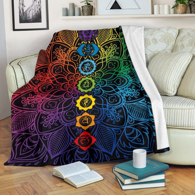Colorful Chakra Blanket
