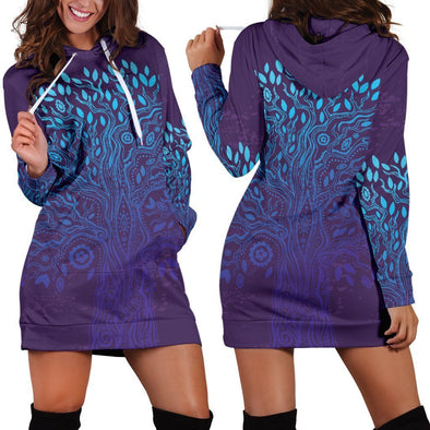 Tree of Life 4 Hooded Dress