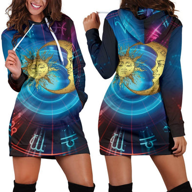 Sun & Moon 1 Hooded Dress