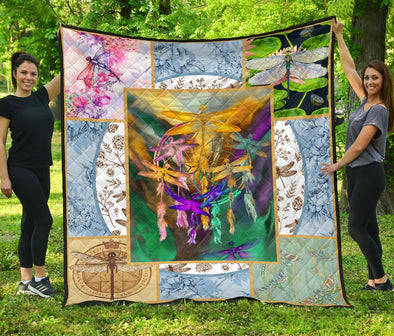 Beautiful Dragonflies Quilt