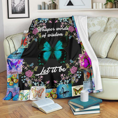 Beautiful Butterflies Premium Blanket