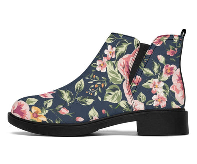 HandCrafted Vitage Floral Booties