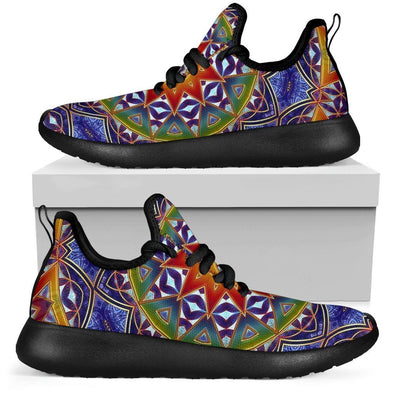 Limited Time 60% Colorful Ethnic Mesh-Knit Handcrafted Sneakers