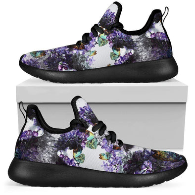 Limited Time 60% Lavander Mesh-Knit Handcrafted Sneakers