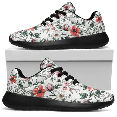 Boho Chic Flower Handcrafted Sport Sneakers