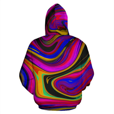 Psychedelic Abstract Art HandCrafted Hoodie