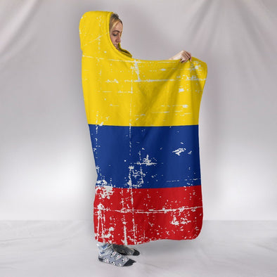 Colombia Hooded Blanket