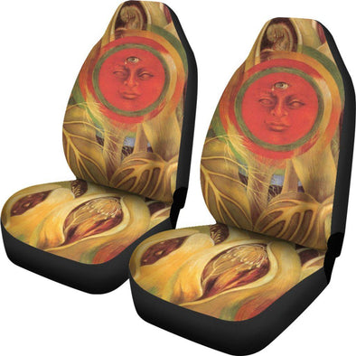 Frida Kahlo Cherry Car Seat Covers