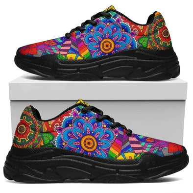 Colorful Mandala Chunky Sneaker