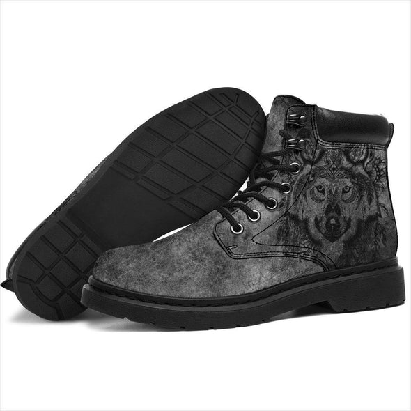 HandCrafted Boho Wolf Performance Boots