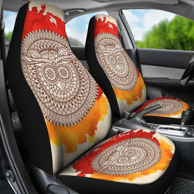 Decorative Owl Car Seat Covers
